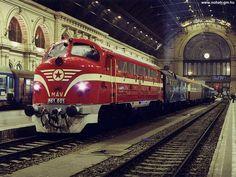 nohab Vintage Trains, Old Trains, Locomotive, Diesel, Rail Train, Train Truck, Commercial Vehicle, Train Station, Budapest