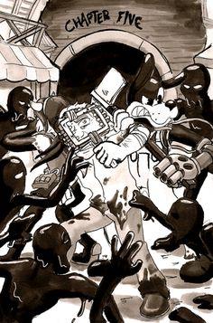 Inktober The Last Reel C'è qualcosa che voglio che tu veda . Demon Manga, Bendy Y Boris, Boris The Wolf, Alice Angel, Ocean Wallpaper, Anime Version, Cartoon Crossovers, Bendy And The Ink Machine, Indie Games