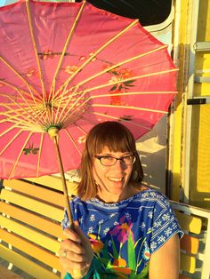 Parasols add so much fun to everything! From Parasols in Paradise