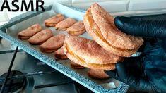 ASMR Невероятно вкусное яблочное печенье! Во время выпекания его аромат ...