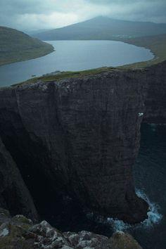 Faroe Islands, between Norway and Iceland