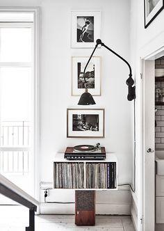 Triplex lamp - vintage treasure - beautiful home in Stockholm