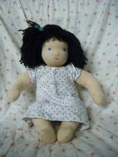 A Waldorf doll for the birthday girl | Farmish Momma