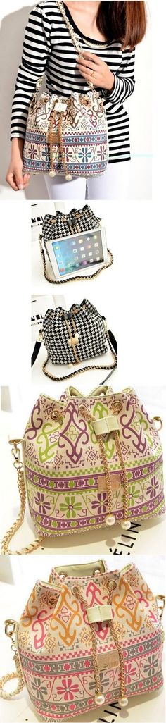 Bucket Bag tecido