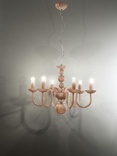 Italamp Crystal Chandelier 281/6 EVOQUE Cipria - Chandeliers - Contemporary - ITALAMP Cult Edition - Lighting - Online Shop - Sfera srls