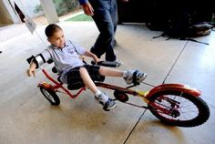 University of Colorado students build adaptive bikes for disabled children.