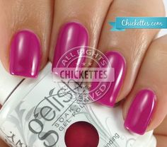 gelish carnival hangover from Chickettes.com
