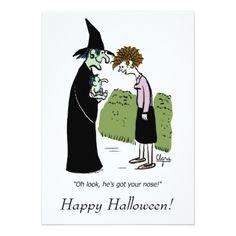 Funny Halloween invitation - Halloween happyhalloween festival party holiday