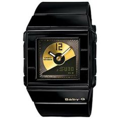 Casio Women's Baby-G BGA201-1E Resin Quartz Watch with Black Dial Casio. $80.00. 100 Meters / 330 Feet / 10 ATM Water Resistant. 43mm Case Diameter. Mineral Crystal. Baby-G Collection. Quartz Movement. Save 27% Off!