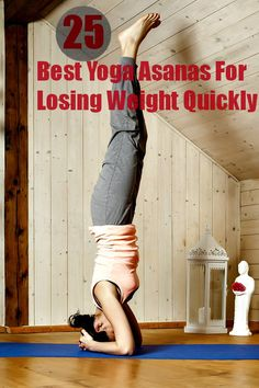 Yoga has been known to have many benefits. Weight loss is one of them. Here are the main poses in yoga for weight loss that you can try at home too. | See more about losing weight, yoga and weights.