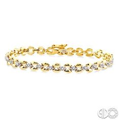 This Panther Diamond Bracelet is a chic gift to symbolize your unique love for her. Glistening brightly on 10 karat luminous yellow gold, this Bracelet showcases 28 sparkling single cut and prong set diamonds that are set in a beautiful complementary panther design to signify a mark of individuality. This bracelet fastens with as secure clasp. Total diamond weight is 1/4 ctw. #swansondiamondcenter #bracelet #yellowgold #diamond