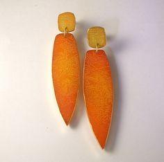 etched earrings Eva Ehmeier