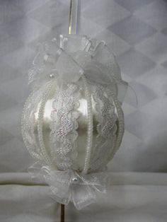 Handmade Christmas Tree Ornament Original Design by BobbyesHobbies, $14.75