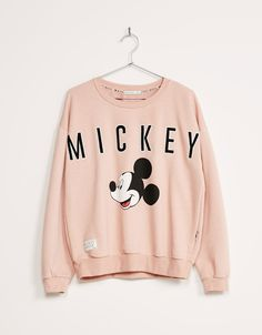 BSK Mickey sweatshirt - Sweatshirts - Bershka United Kingdom