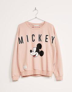 BSK Mickey sweatshirt - Sweatshirts - Bershka United Kingdom