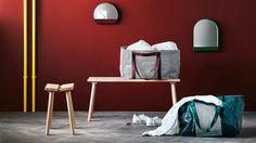 Ypperlig – die limitierte Kollektion von IKEA und HAY | SoLebIch.de     Ikea x Hay Ypperlig gepinnt.  Ypperlig – die limitierte Kollektion von IKEA und HAY | SoLebIch.de Foto: Ikea #ikea #hay #kollektion #ypperlig #ikeatasche #tasche #hocker #holzhocker #sitzbank #bank #interior #design #einrichtung #inspiration