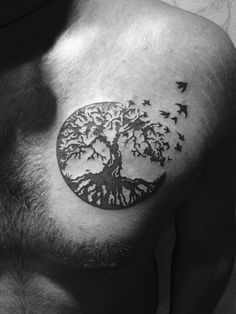 Tree of life...my first tattoo