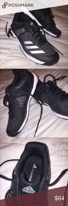 brand new 6879e d5eef BRAND NEW ADIDAS VOLLEYBALL SHOES🖤 Selling brand new Adidas volleyball  shoes. Never have been