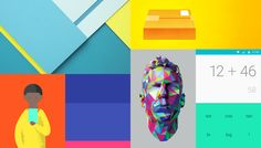 Android Lollipop means lots of app updates to use material design guidelines. Design Blog, Web Design Inspiration, Ux Design, Print Design, Google Material Design, Ui Color, Color Style, Google Design Guidelines, Web Colors