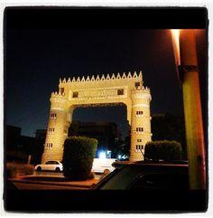 Justice Square - Old Riyadh, Saudi Arabia  Photo by : Hanouf A. Al Al Sheikh