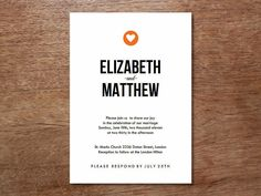 Wedding invitation graphic design everything you need to know a A Practical Wedding Heart Wedding Invitations, Black And White Wedding Invitations, Wedding Invitation Templates, Invites, Wedding Stationery, Invitation Envelopes, Invitation Ideas, Chicago Wedding Venues, Inexpensive Wedding Venues