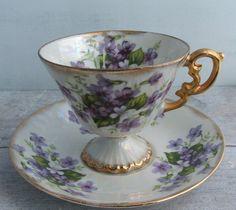 Lustreware tea cup