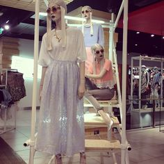 Loving the new cute as a button looks in our flagship London store. #london #topshop #topshopoxfordcircus #style #fashion