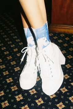 White Sneaker Heels <3
