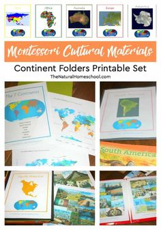If you want to make some of your own Montessori continent boxes or study units, I have made a Continent Folders Printable Set to help you get started!...