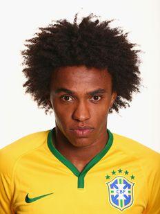 William of Brasil - worldcup 2014 football team