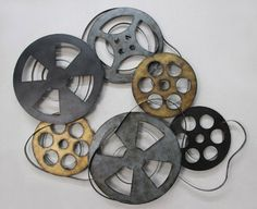 TWG Reel Film Metal Film Reel Hollywood Style Wall Decor ** Details can be found by clicking on the image. (This is an affiliate link and I receive a commission for the sales)