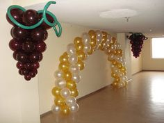DECORACIONES EN GLOBOS Balloon Decorations, Birthday Party Decorations, Wedding Decorations, Birthday Parties, Ideas Bautizo, Hanging Balloons, Bridal Shower, Baby Shower, Ideas Para Fiestas