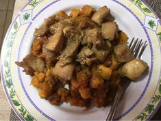 Fokhagymás, mézes csirkemell édesburgonyával Kung Pao Chicken, Stuffed Mushrooms, Beef, Healthy Recipes, Vegetables, Ethnic Recipes, Food, Stuff Mushrooms, Meat