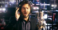Josh Groban has the kind of voice that can change your day. And his beautiful version of 'Over The Rainbow' was exactly the boost I needed today. I'm covered in chills with a giant smile on my face, and I know you'll join me!