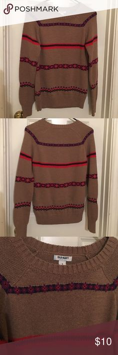 Old Navy Sweater Thick material, worn maybe once. Great condition! Old Navy Sweaters