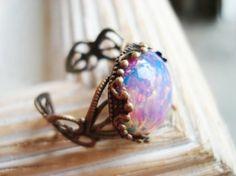 vintage engagement rings! Opal is so beautiful!!!