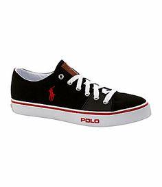 Polo Ralph Lauren Mens Cantor Low Canvas Sneakers #Dillards