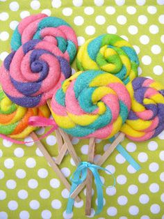 Occasional Cookies: Lollipop Sugar Cookies