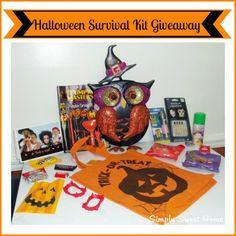 Halloween Survival Kit Giveaway @Jerri - simplysweethome.com