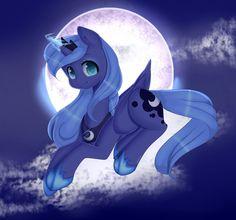 AT.:-Little Luna- by Clefficia.deviantart.com on @DeviantArt