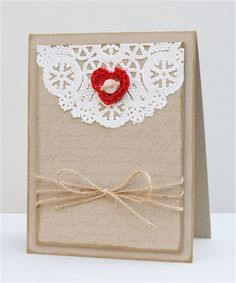 The Apple Crate: Rustic Valentine