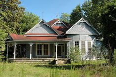 Kite GA Johnson County Abandoned Rural Southern Decay Vernacular Arhictecture Folk Victorian House Pictures Photo Copyright Brian Brown Vanishing South Georgia USA 2010
