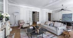 haussmanien architecte intérieur paris salon