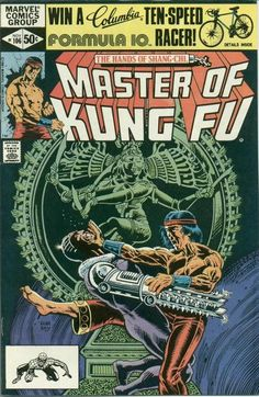 Master of Kung Fu # 106 by Gene Day