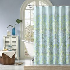 Shop for Madison Park Essentials Carly Printed Shower Curtain. Free Shipping on orders over $45 at Overstock.com - Your Online Bath