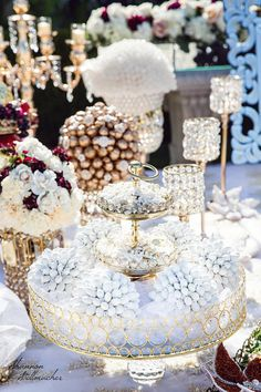 Items similar to Sofreh Aghd, White Almond Crystal Centerpeices on Etsy Iranian Wedding, Persian Wedding, Wedding Table Centerpieces, Table Decorations, White Almonds, Thanksgiving Decorations, Winter White, Confetti, Dream Wedding