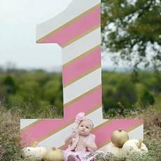 First birthday. Number one. Yard party dfw. Yard sign