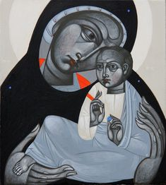 Virgin and Child with globe