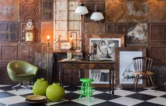 The Explorer's Study > Amatuli Asian Interior, Interior And Exterior, Interior Stylist, Textures Patterns, Living Spaces, Study, Explore, Lighting, Wall