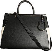Fendi Handbags - Fall - Winter 2012/13 - Leather & Fur, Black - Ladies Stylish Handbags... http://ladiesstylish.com/handbags.html #LadiesStylish #Designer #Handbags